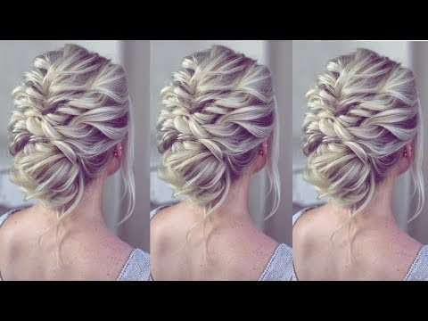 Updo In MINUTES!! By SweetHearts Hair