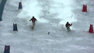 Simon Lemieux vs Shane Cordeau - 2014 FIS Nor-AM - Apex - Day 2 Duals - Mens Top 16 Dual Finals