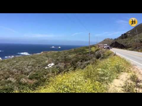 Rescuers Respond to car over cliff south of Sobranes Point in Big Sur