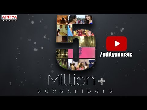 Celebrating 5 Million Subscribers For Aditya Music Official YouTube Channel