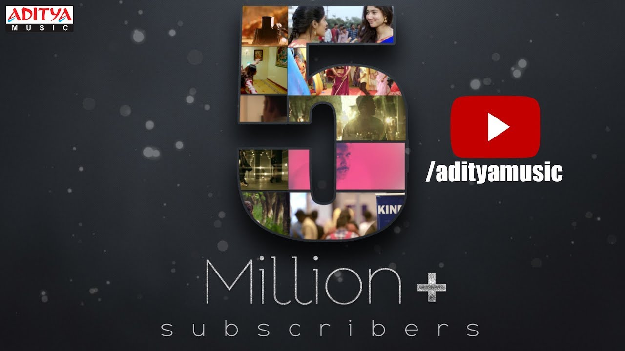 Celebrating 5 Million Subscribers For Aditya Music Official Youtube Channel Youtube