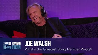 What's the Greatest Song Joe Walsh Ever Wrote?