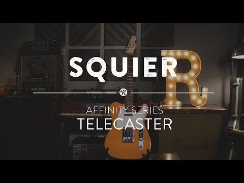 Squier Affinity Series Telecaster Electric Guitar | Reverb Demo Video