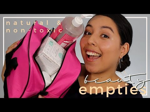 Green Beauty Empties & Mini Reviews | End of Summer 2017