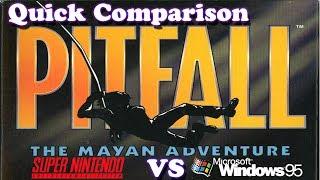 [Quick Comparison] Pitfall The Mayan Adventure - SNES vs PC