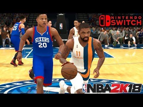 ASÍ SE VE NBA 2K18 EN NINTENDO SWITCH | Primeras Impresiones