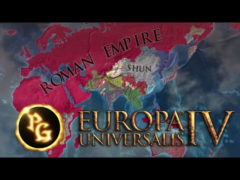 EU4 Timelapse - Rise of the Roman Empire (1444 - 1834)