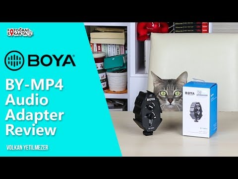 BOYA BY-MP4 Audio Adapter Review - Volkan Yetilmezer