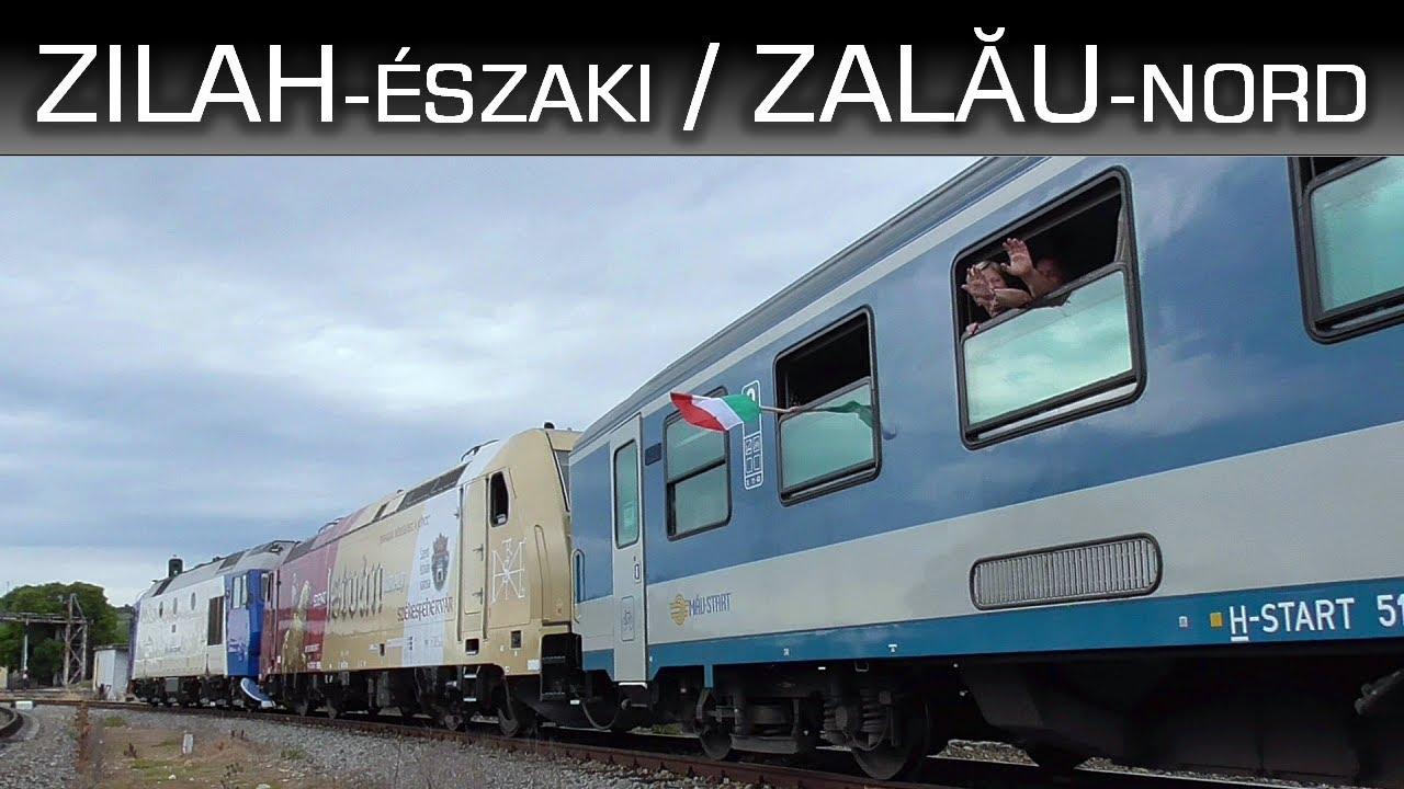Ide is eljutott a Szent István TRAXX | Vonatok Zilahon / Zalău Nord
