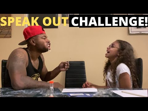 SPEAK OUT CHALLENGE! (VERY FUNNY)