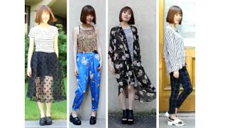 Outfits with mixed patterns & prints Thumbnail