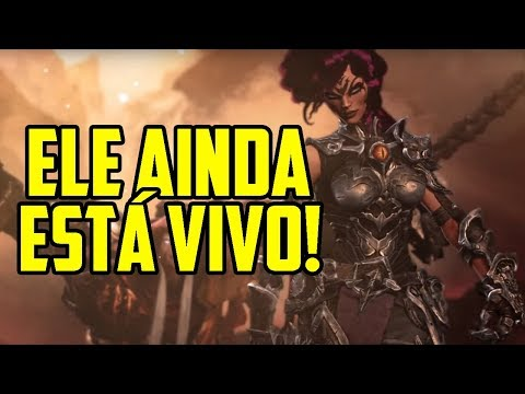 ELE AINDA ESTÁ VIVO!!! MUITAS MELHORIAS NO NOVO TRAILER DE DARKSIDERS III