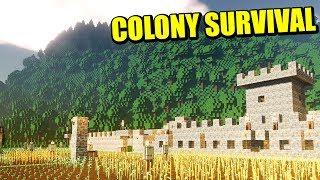 COLONY SURVIVAL - MI REINO Vs ZOMBIES (COOP)