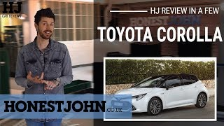 car review in a few 2019 toyota corolla finally a hybrid hatchback thats funish