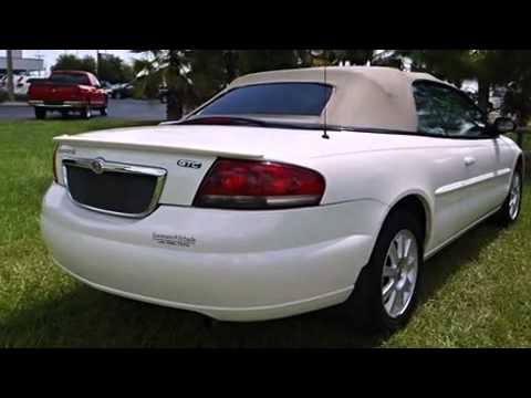 2004 chrysler sebring gtc convertible youtube. Black Bedroom Furniture Sets. Home Design Ideas