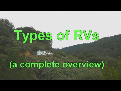 What Are The Different Types Of RVS? - An Overview - Newbie RV Owner Training