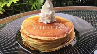 How to make fluffy Buttermilk pancakes!