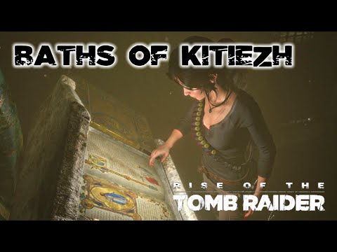 Rise of the Tomb Raider · Baths of Kitezh Challenge Tomb Wal
