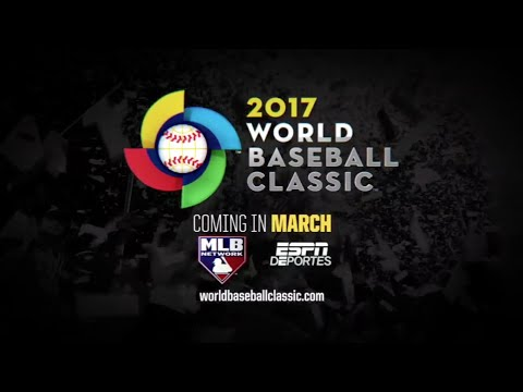 World Baseball Classic is back! WBC 2017