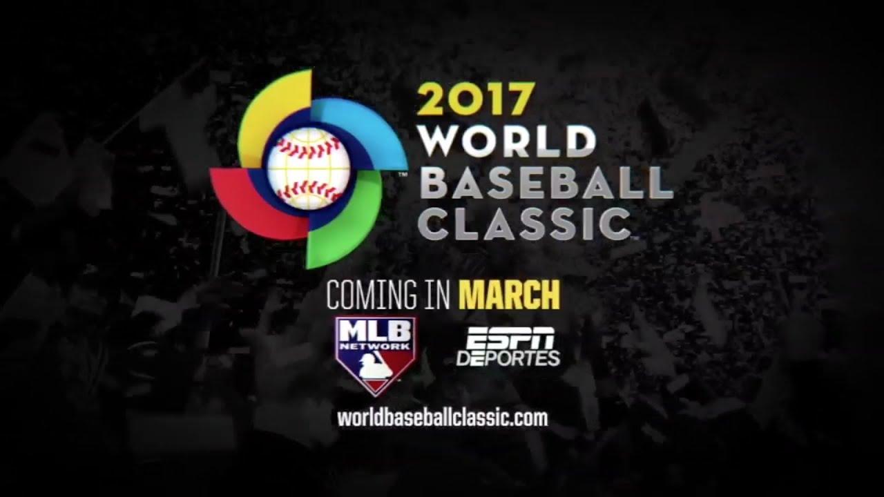 World Baseball Classic Is Back WBC 2017 YouTube