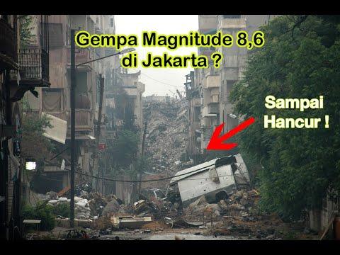 SIMULASI GEMPA BUMI BPBD DKI JAKARTA