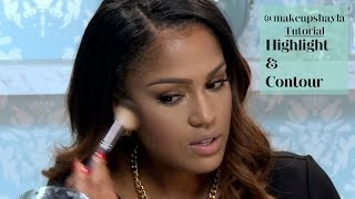Highlight and Contour Tutorial | @MakeupShayla for Modamob #4