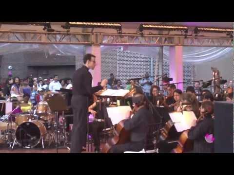 Brooklyn Philharmonic concert at Bed-Stuy Restoration Plaza