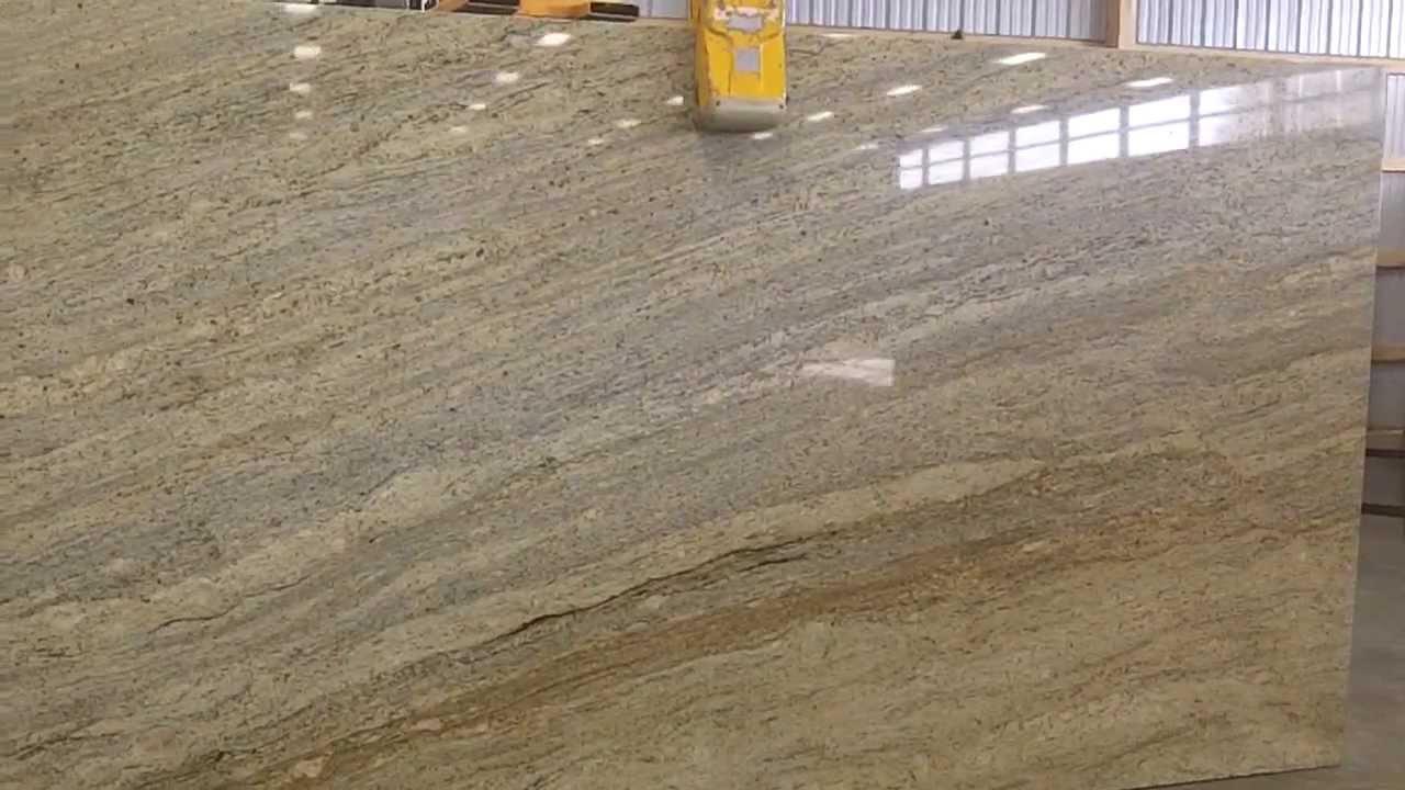 Kashmir Gold Granite Countertops   Slab Lot 3   Stone Masters Inc.  610 444 7200   YouTube
