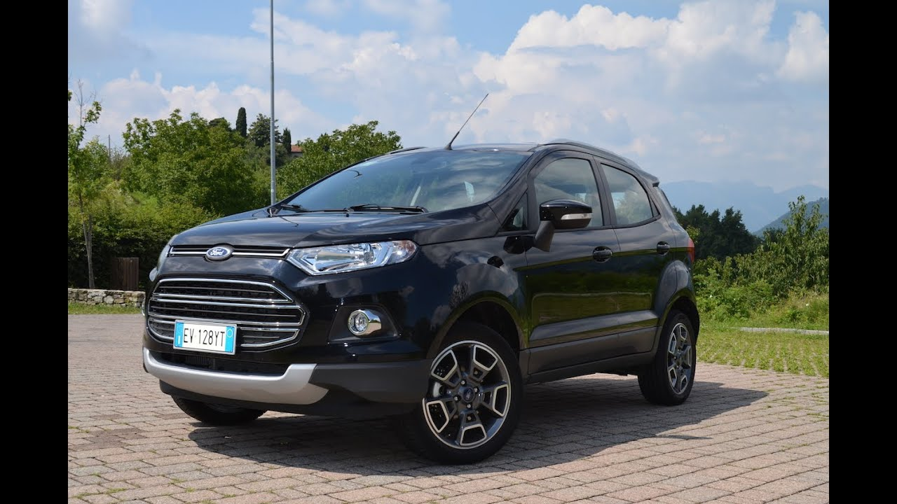 ford ecosport il test drive di youtube. Black Bedroom Furniture Sets. Home Design Ideas