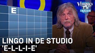 Lingo in de VI-studio: 'E-L-L-I-E'   VERONICA INSIDE
