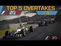 F1 2016 Top 5 Overtakes 5