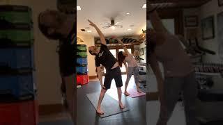 Quarantine Yoga Flow V, April 18, 2020