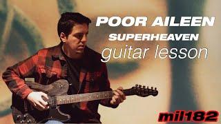 Superheaven - Poor Aileen Guitar Lesson