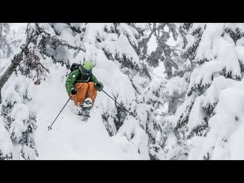 Zack Giffin Tears Up Mt. Baker Ski Area - The Good Life Pacific Northwest