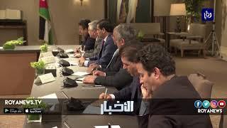 الملك فخور بما شاهده من تعبير حضاري من الشباب الأردني - (5-6-2018)