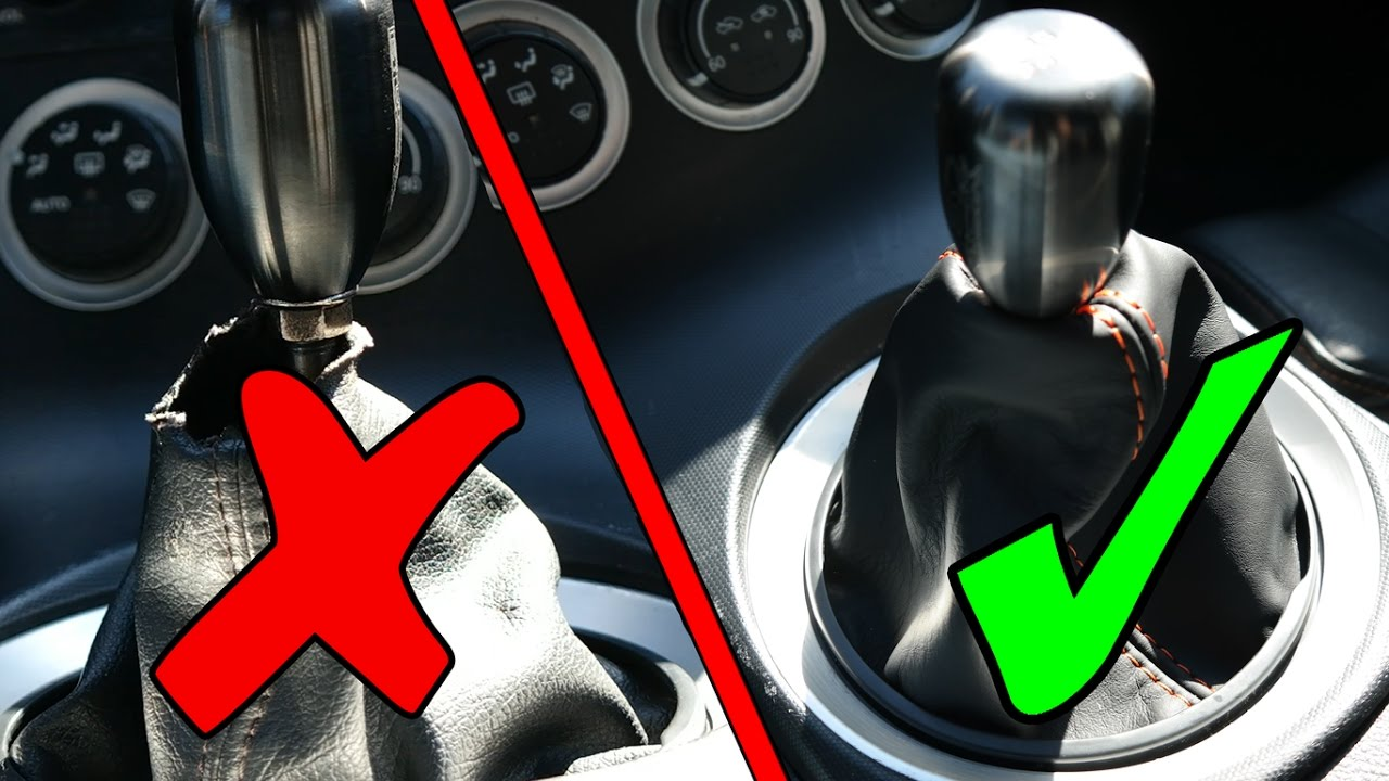 How To Nissan 350z Shifter Boot Cover Installation Youtube