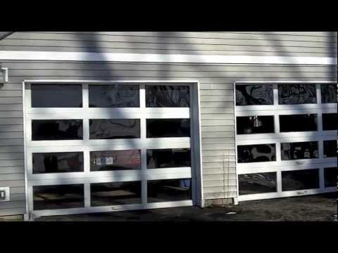 How To Build A Passive Solar Garage Door Youtube