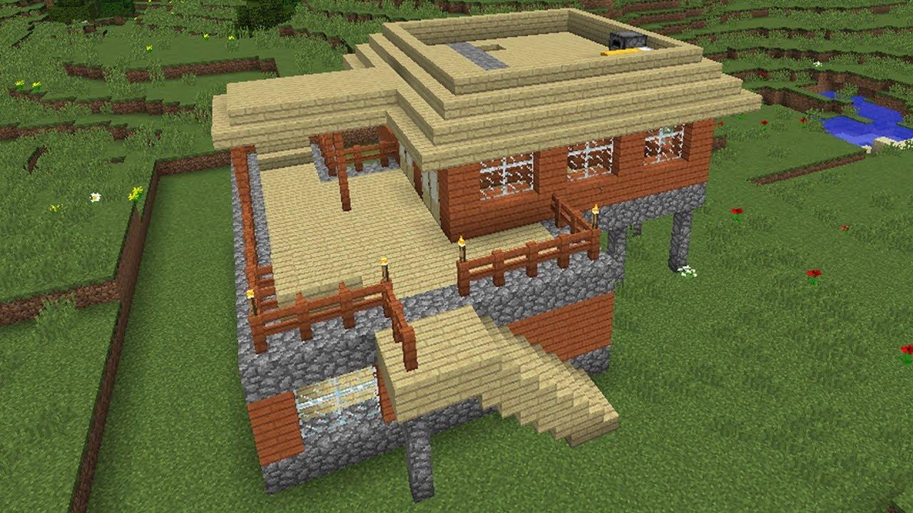 постройка домов для новичков в майнкрафте