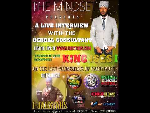 KING ISESI THE HERBAL CONSULTANT, ON THE MINDSET HOSTED BY I-JAH-STARS 30-12-15