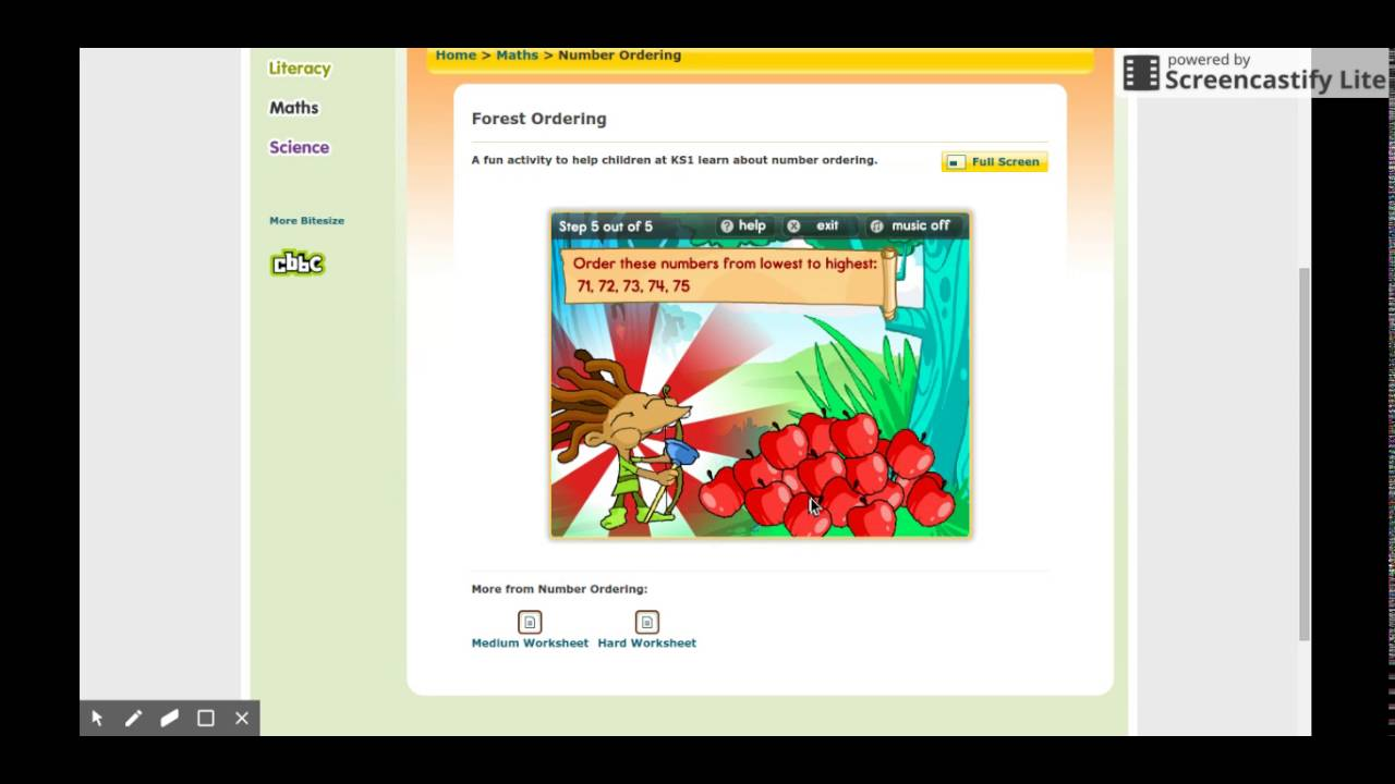 bbc maths games practice - YouTube