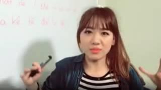 Ca sĩ Hariwon dạy hát bài So Crazy tiếng hàn