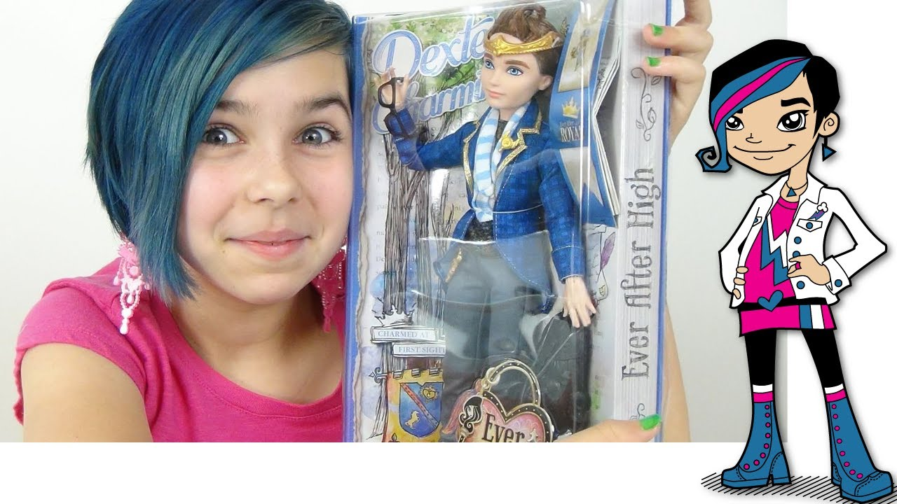 Ever After High Eah Dexter Charming Doll Review Youtube