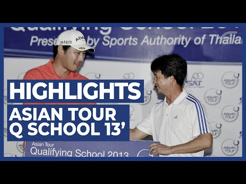 Asian Tour Golf Highlights - Q-School 2013