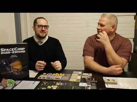 Review: SpaceCorp from GMT Games - The Players' Aid