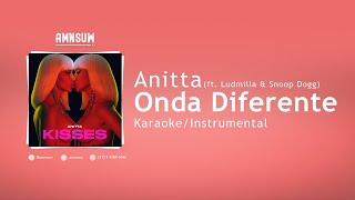 Baixar Anitta & Ludmilla feat. Snoop Dogg, Papatinho - Onda Diferente (Karaoke/Instrumental With Lyrics)