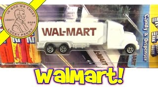 Pez Candy Collection Walmart Semi Tractor Trailer Trucks 2011 Limited Edition Dispensers