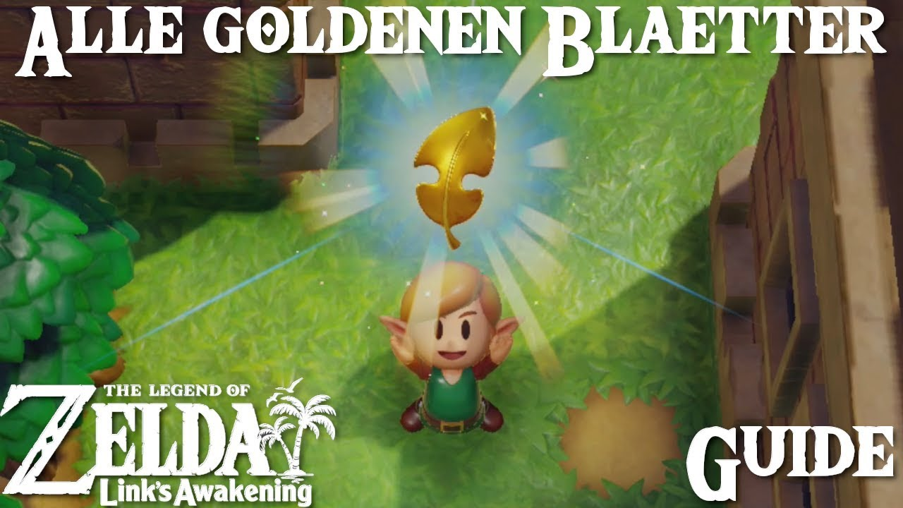 links awakening goldene blätter
