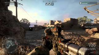 Medal Of Honor Warfighter Combat Demo HK416C