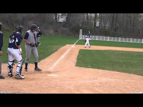 Harry Fink  Long AB  Ends with Hit to Right Center  RBI   10th Grade  Hewlett