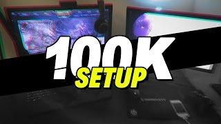 MY GAMING SETUP! - MythyMoo 100k Special